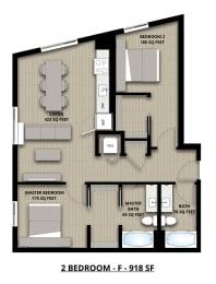 Floorplan 2F 2x2