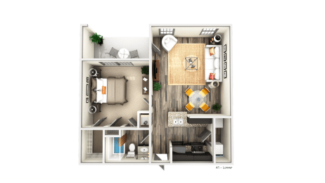 Floor Plan A1LG