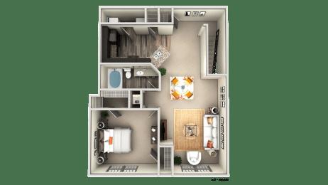 Floor Plan A2 UPPER