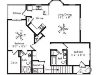 Floor Plan B2UG