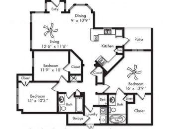 Floor Plan C1 LOWER