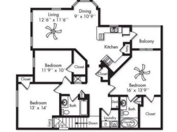 Floor Plan C1UG