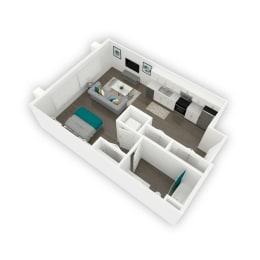 Floor plan Stockwell