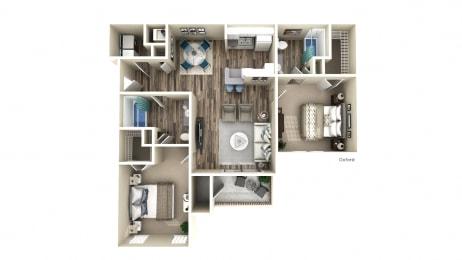 Floor Plan The Oxford