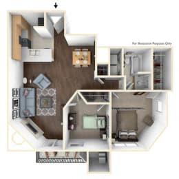 Floor Plan 2X1A