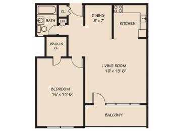 Floor Plan THE ARLINGTON