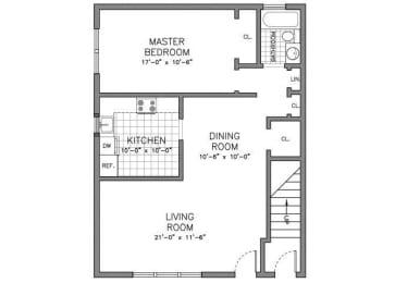 Floor Plan RESIDENCE TYPE A 1