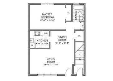 Floor Plan RESIDENCE TYPE A