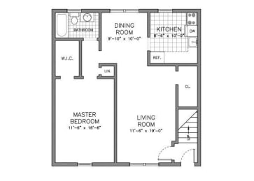 Floor Plan RESIDENCE TYPE A S