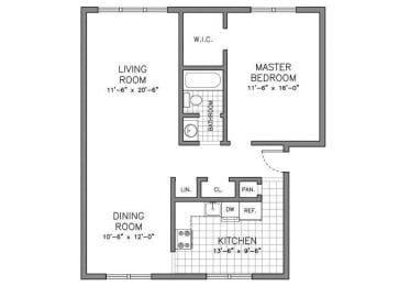Floor Plan RESIDENCE TYPE B
