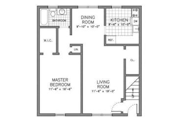 Floor Plan RESIDENCE TYPE W