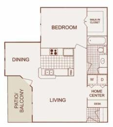 Saddle Creek - Preakness Floor Plan at Saddle Creek & The Cove, Austin, TX, 78748