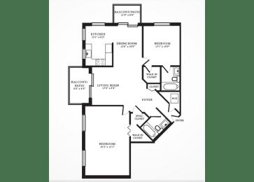Redwood II floorplan