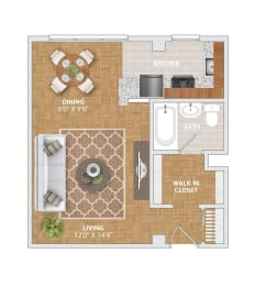 The Manor II floorplan at Bridgeyard Old Town