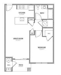 The Jones Floorplan