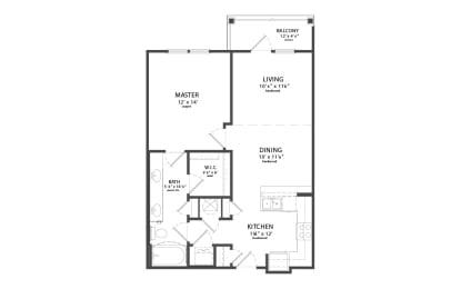 Floor Plan BOOKMAN