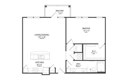 Floor Plan DAVIDSON