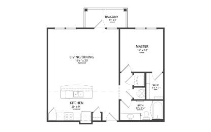 Floor Plan ELMINGTON