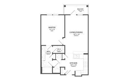 Floor Plan HILLSBORO