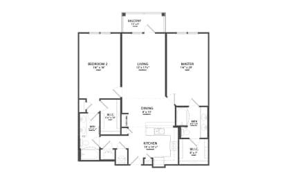 Floor Plan OPRY