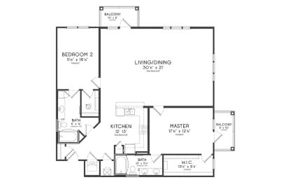 Floor Plan THE BELCOURT