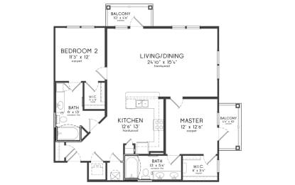 Floor Plan VANDERBILT