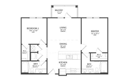 Floor Plan WEDGEWOOD