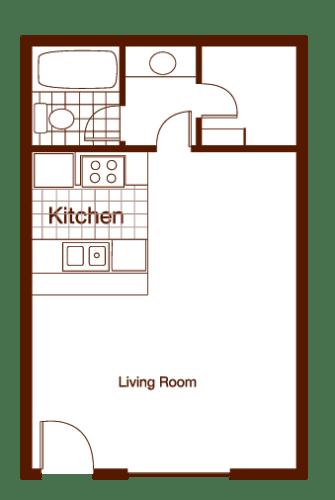 Floor Plan  Sage Studio
