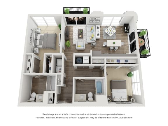Floor Plan  B2 floorplan