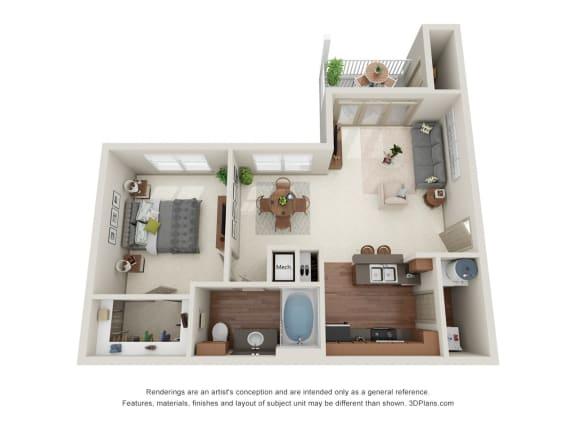 Floor Plan  Aspen 3D Floor Plan