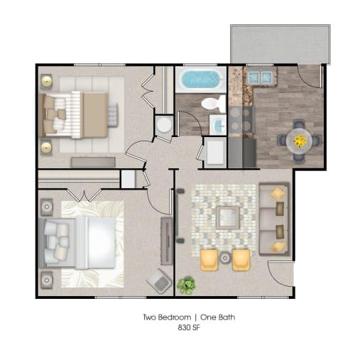Floor Plan  The Edgewater