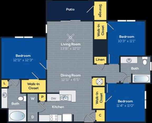 Floor Plan  Smithgall