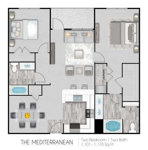 Floor Plan  The Mediterranean