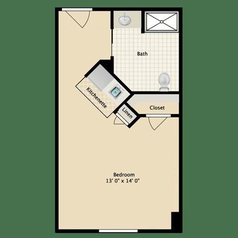 Floor Plan  meetinghouse at riverfront senior independent living floorplan
