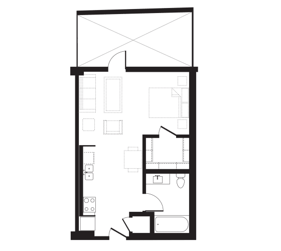 Floor Plan  Unit Z