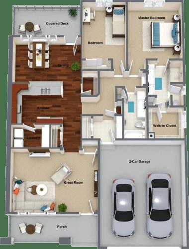 Floor Plan  Bay Roan