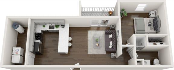 Floor Plan  Floorplan K