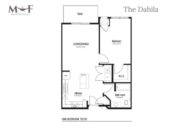 Floor Plan  The Dahila