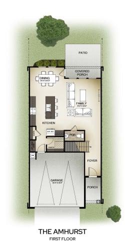 Floor Plan  The Amhurst