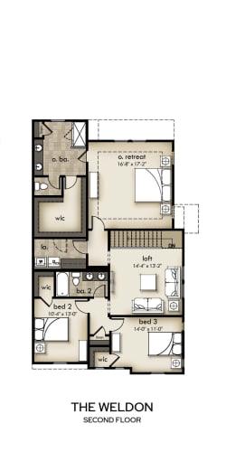 Floor Plan  The Weldon