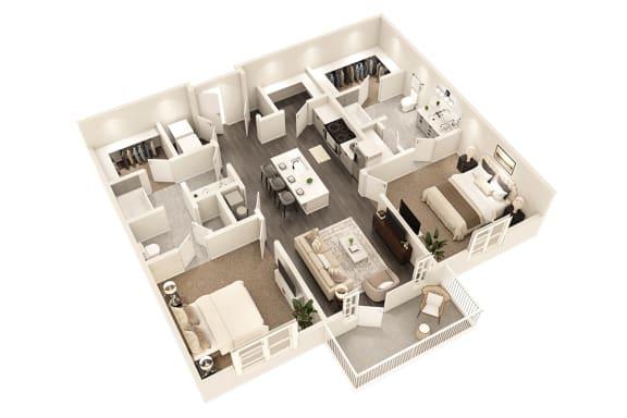 Floor Plan  B4 - Conclave Edition