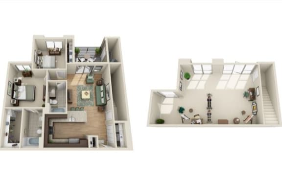 Floor Plan  B5 - Live Work
