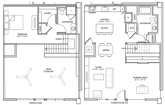 Floor Plan  Aliso LW6 1266 SF