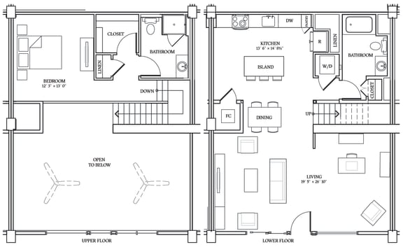 Floor Plan  Aliso LW7 1275 SF