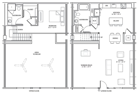 Floor Plan  Aliso LW8 1414 SF
