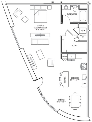Floor Plan  Aliso S13 1076 SF