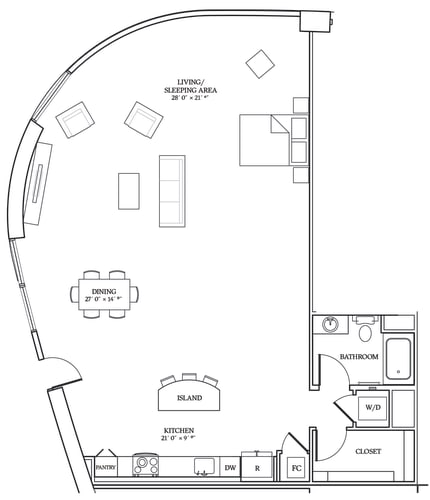 Floor Plan  Aliso S14 1422 SF