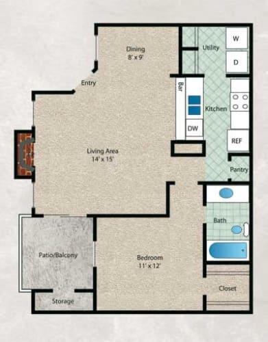 Floor Plan  Water Oak