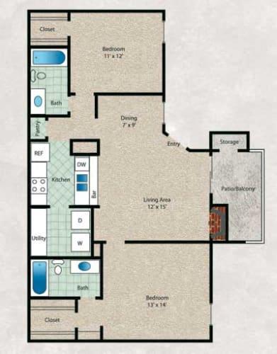 Floor Plan  Live Oak