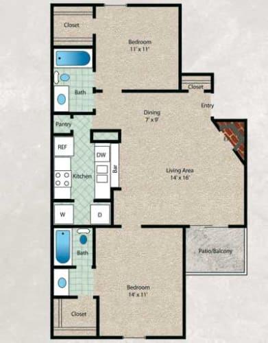 Floor Plan  Pin Oak